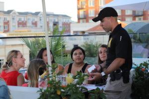 Officer conducting ARI Training