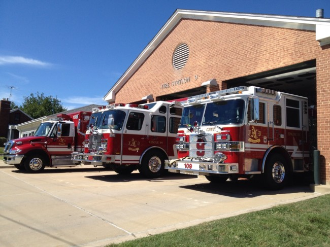 Fire Station 9 - Walter Reed - Fire Department