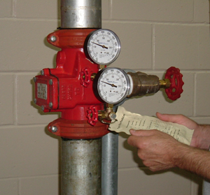 Testing fire protection systems