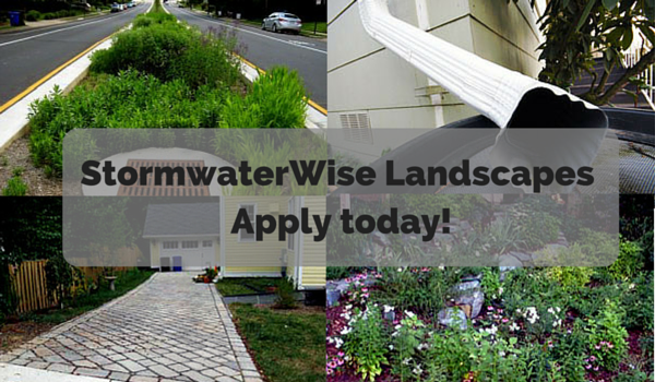 StormwaterWise Landscapes Apply today!