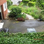 Pervious Driveway - Before