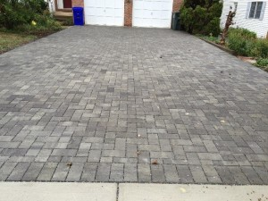 Pervious Driveway - After