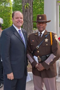 Deputy and ceremony guest