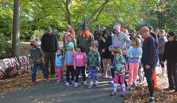 zombie fun run participants