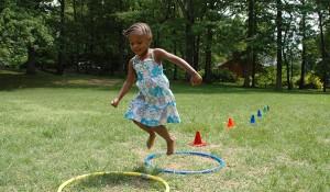 girl having fun in a park - strategic plan