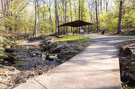 lubber run picnic shelter