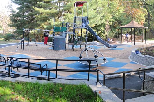 big walnut park arlington county playground