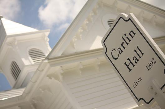 carlin hall arlington county house sign