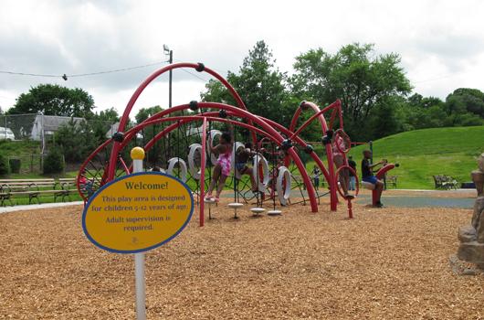 charles drew arlington county playground