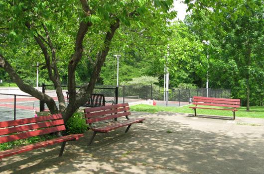 glebe_road_park_arlington_county_benches