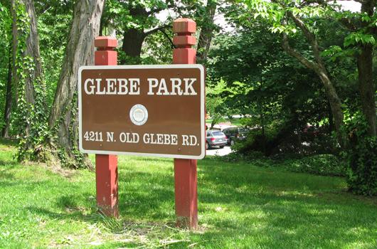 glebe_road_park_arlington_county_sign