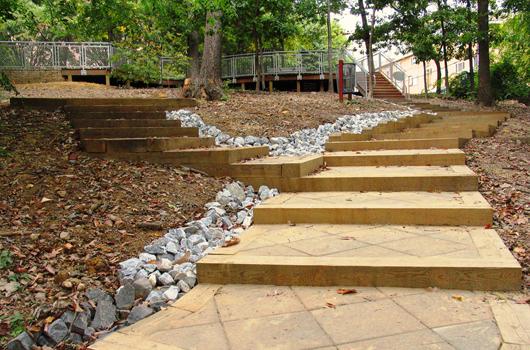 hillside_park_arlington_county_steps