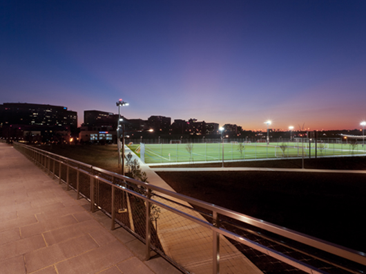 long_bridge_park_arlington_county_field_lights_night