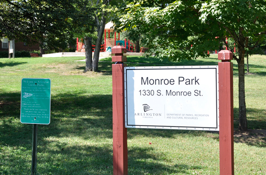 monroe_park_arlington_county_signs