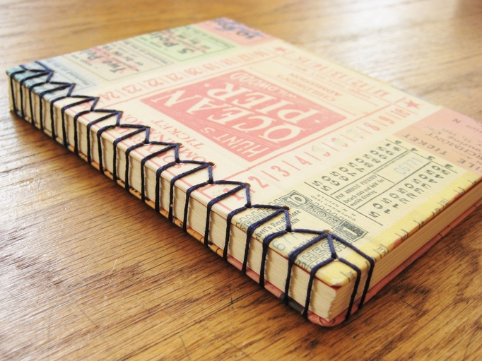 How To Make A Book Journal ~ Art classes