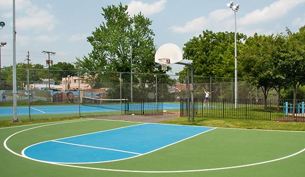 Langston-Brown Basketball Court