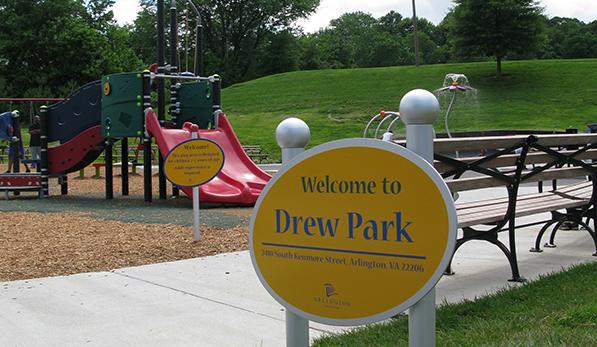 Drew Park Sign