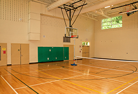 Walter Reed basketball court