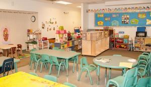 Gunston Preschool classroom