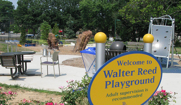 Walter Reed playground