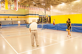 thomas_jefferson_gymnasium with pickleball court