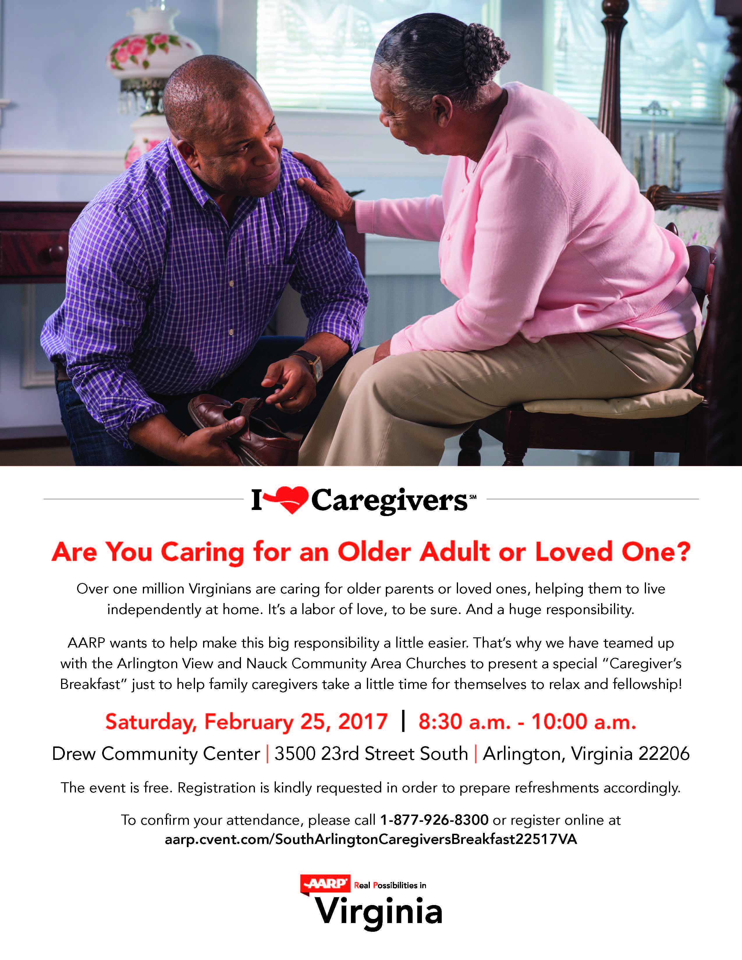 Care Giver 02252017 Va Arlington Cg Flyer_rd2 2017 Feel The Heritage  Festival Parks & Recreation How To Apply