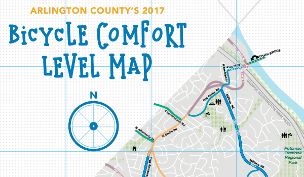 Bicycle Comfort Map Title Image