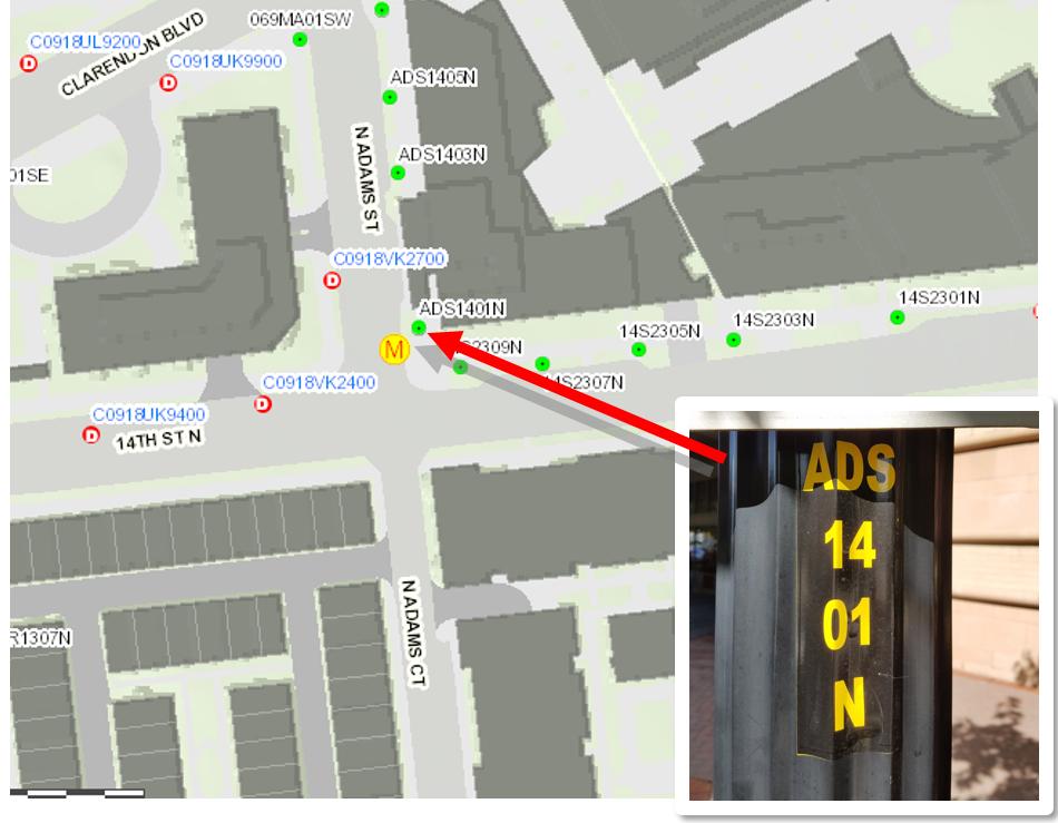 Streetlight Pole Identification Protocol Transportation - Street light map us