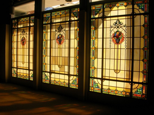 Tiffany Windows at Maury School