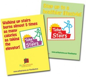 take the stairs ad