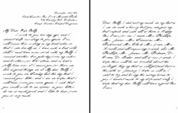 Letter from Iselin Roberts to wife Nelly dated Dec. 31, 1861