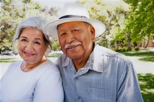 Older Hispanic Couple