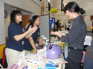 MRC volunteers teach proper handwashing