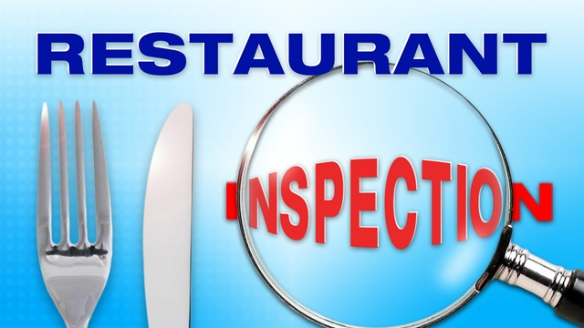 restaurant inspection graphic
