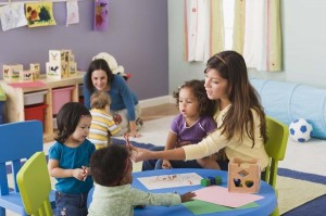 home child care scence