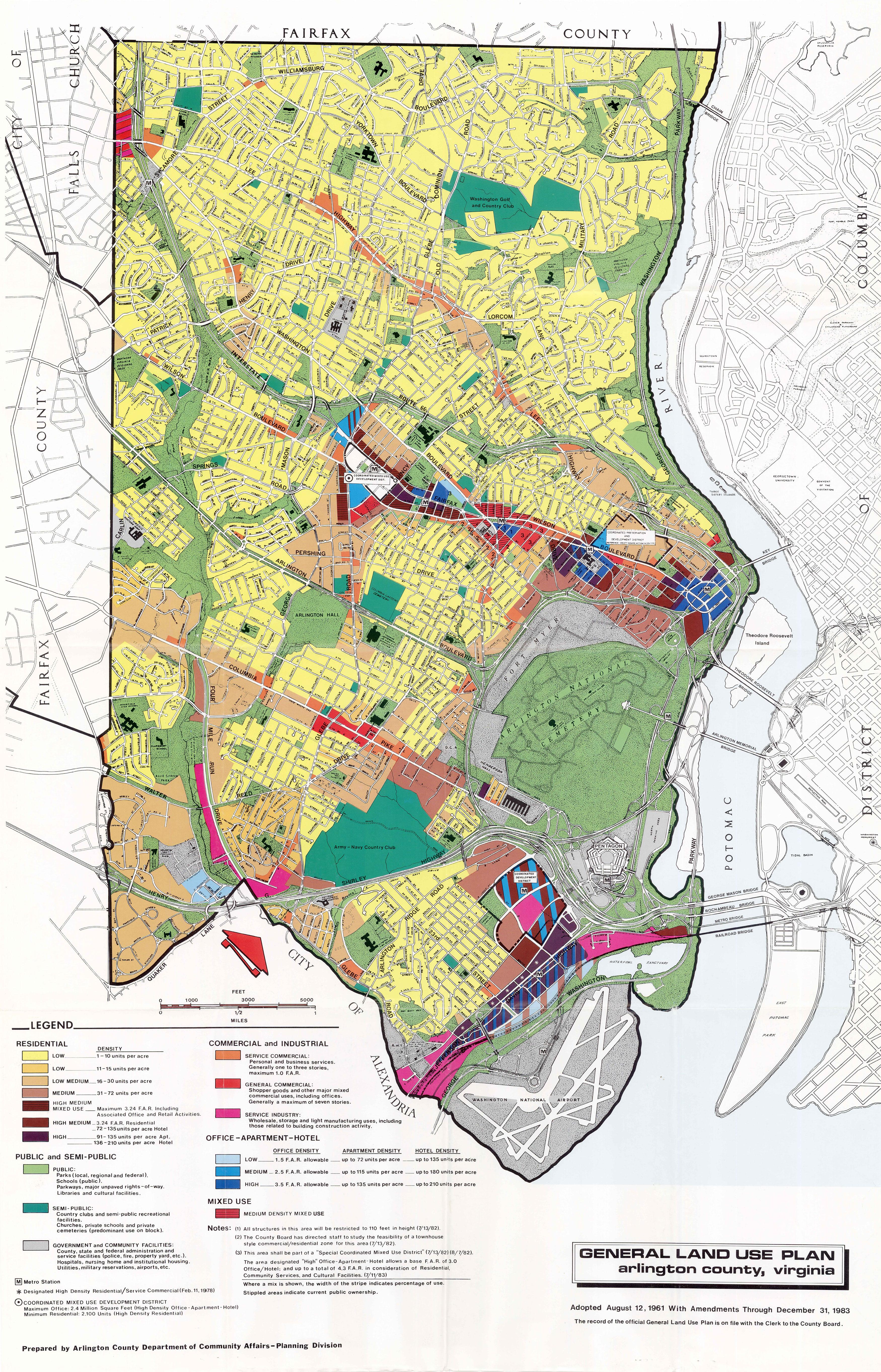 Historical General Land Use Plan Maps