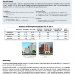 Cover from the Quarterly Development Report 2013 Quarter Four