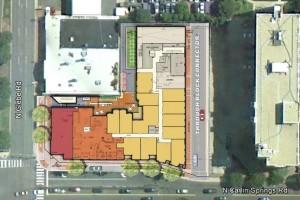 650 N Glebe ground floor plan