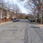 Missing sidewalks on North Vernon Street