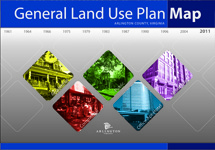 cover page of the general land use plan map