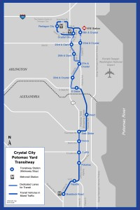 Transitway map