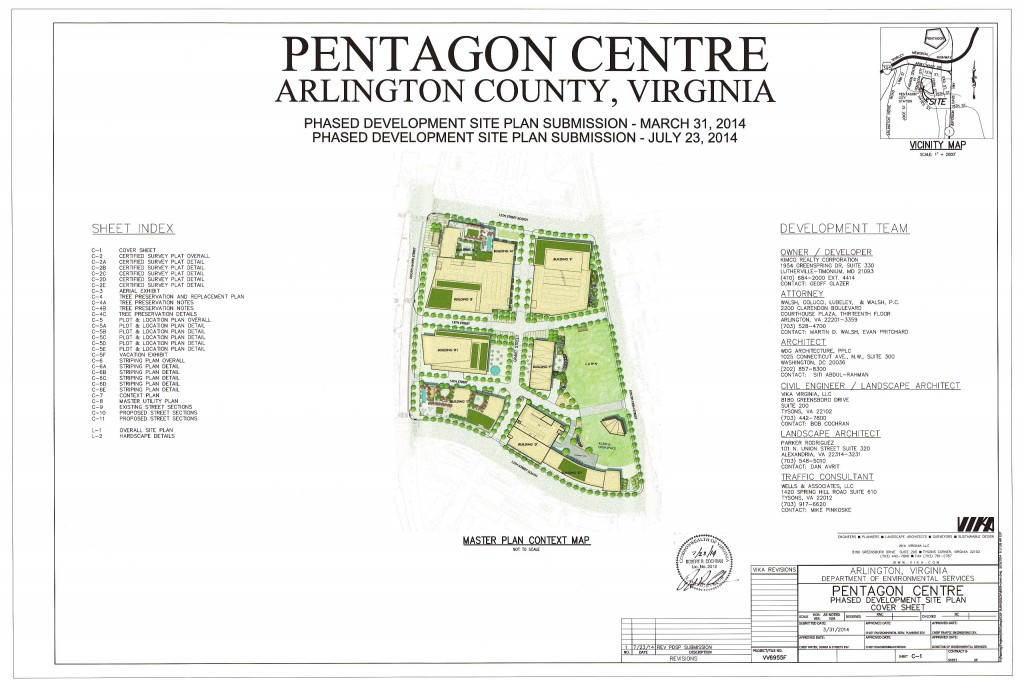1201 s hayes street and 1200 s fern street pentagon for Pentagon house plans