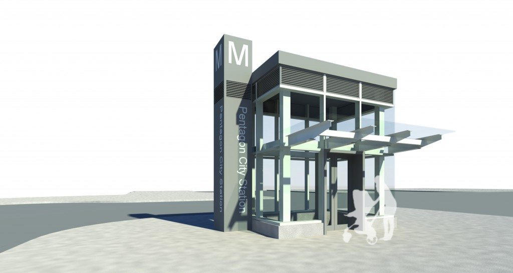 Pentagon City Metro