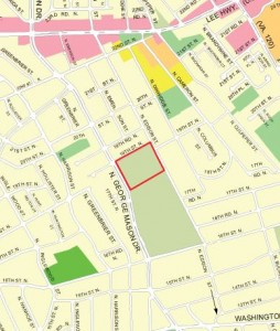 Edison property shown on the General Land Use Plan (GLUP) map