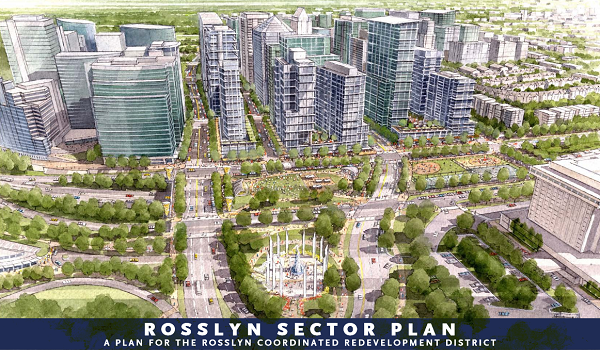 cover page of the rosslyn sector plan document