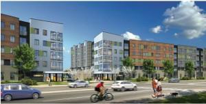 Street view rendering of the Berkeley