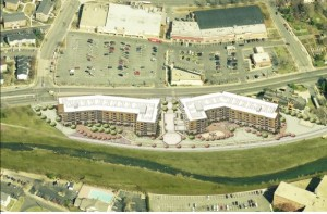 Overhead rendering of the Berkeley, second angle