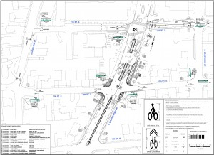 11th/12th Street South Bike Boulevards Sign Marking Plan