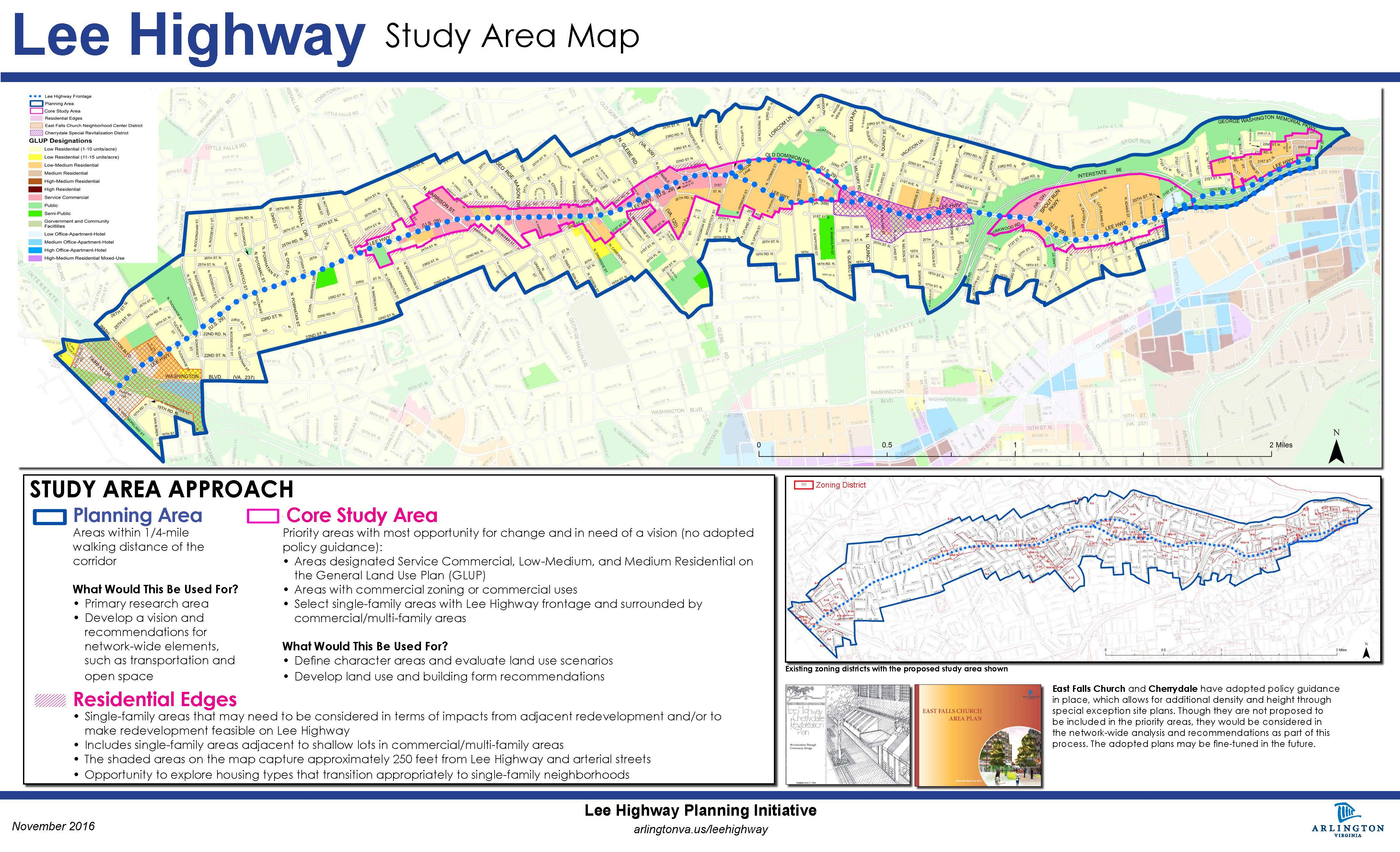Lee Highway Planning Arlington VA