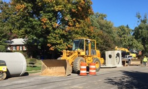 West Little Pimmit Run Sewer Construction